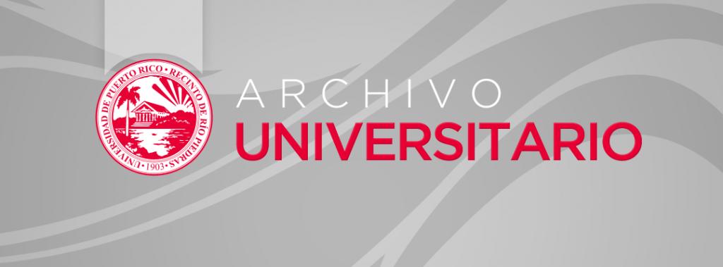 Banner página principal del Archivo Universitario